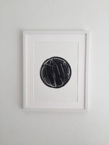 Black Sphere – Matthias Jäger 2020 – Atelier Rechbauerstraße 46 Graz