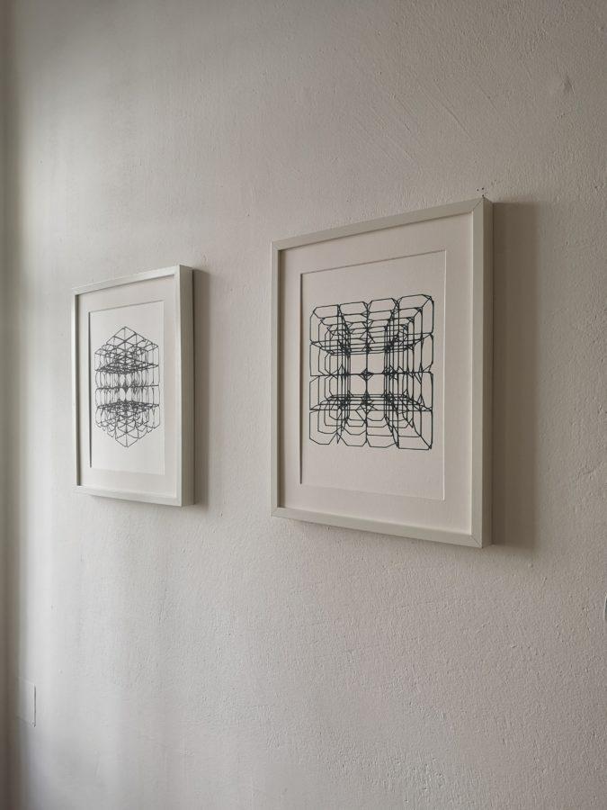 distCubeGrid Matthias Jäger Generative Gestaltung Edding Stifplotter Graz 2020